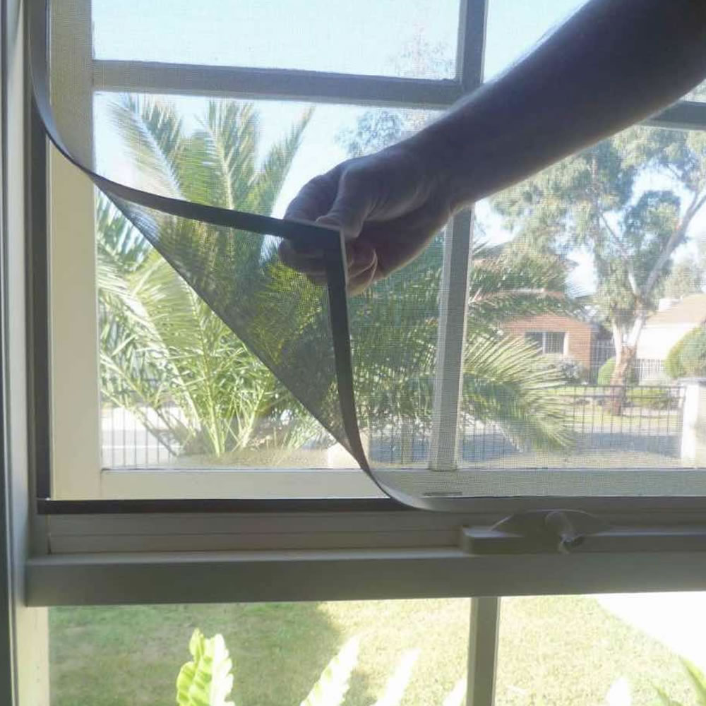 magnetic fly screen for windows